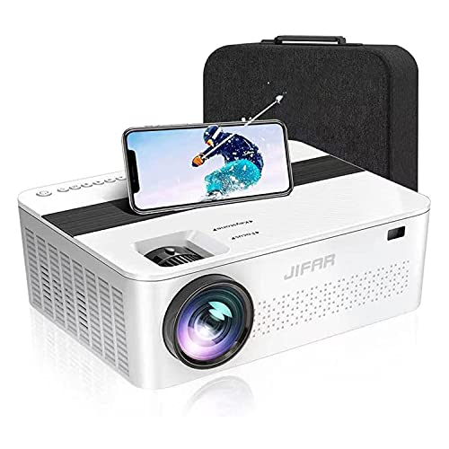 Native 1080P Projector with 450'Display,9000 Lux HD 4K Projector for Outdoor Movies,Support 4k,Dolby,Zoom, Keystone Correction,Compatible with TV Stick,HDMI,VGA.USB,Smartphone,PC