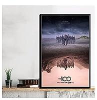 キャンバスポスタープリントホットニューシーズンTVシリーズショー映画現代絵画アート壁の写真リビングルームquadrocuadros(50X70Cm)-20x28インチフレームなし
