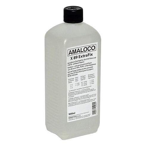 AMALOCO X 89 ExtraFix 1L geruchloses Fixierkonzentrat für alle S/W Filme und S/W PE- und Baryt-Papiere