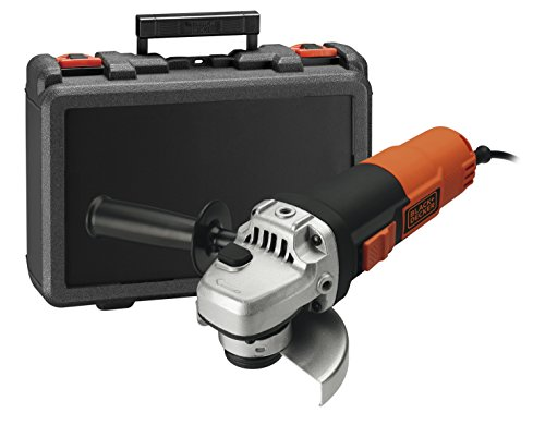 BLACK + DECKER KG911K-QS haakse slijper, 900 W, in koffer 115 mm
