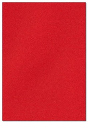 Poppy Red 297mm x 210mm 100gsm A4 Coloured Paper - Pack of 25 Sheets