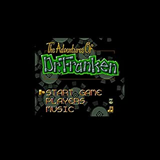Adventures Of Dr. Franken The 16 Bit Big Gray Game Card For Ntsc Game Player