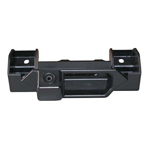 Dynavsal Colore telecamera di retrovisione con linee di griglia come luce targa, sensore di parcheggio Nero per Grand Vitara 2005-2017(/ SX4 2006-2014/ SX4(S-Cross) ab 2013