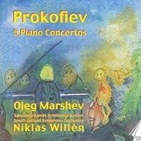 Prokofiev: Piano Concertos 1-5 by Oleg Mrashev (1997-03-18)