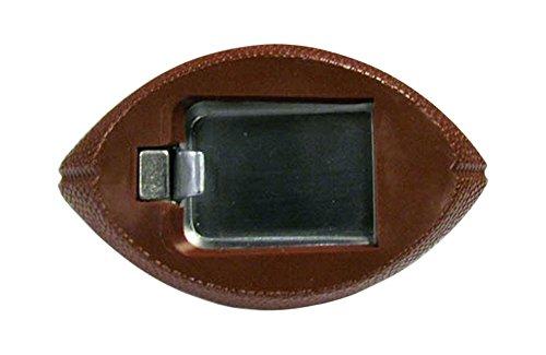 Siskiyou NFL Pittsburgh Steelers Football Bottle Opener Magnet, 3-Inch, Brown