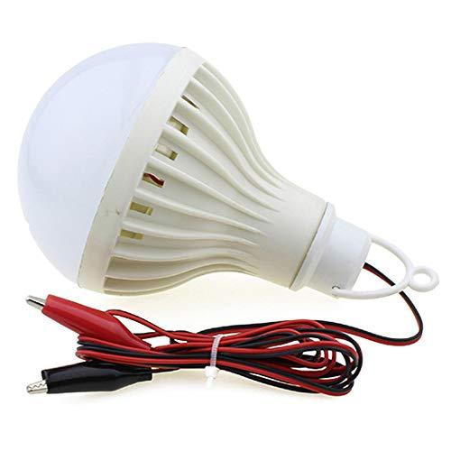xinyawl Camping Licht LED Tragbare LED-Anhänger Nachtlicht Lampen Outdoor-Beleuchtung Angeln Camping Garten Lichter Krokodil Clip