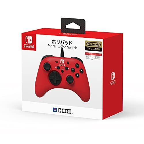 【任天堂ライセンス商品】ホリパッド for Nintendo Switch レッド【Nintendo Switch対応】