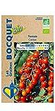 Les Graines Bocquet - Graines de Tomate cerise- Certifiée ECOCERT FR-BIO-01- Graines potagères à semer- Sachet de 0.1Gr