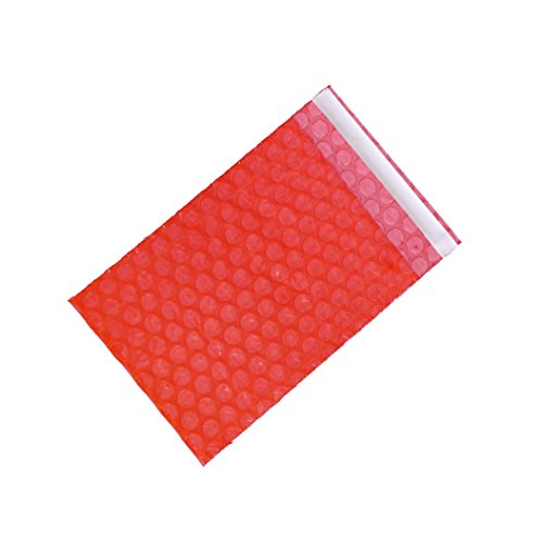 XSY Antiestático Bolsa de Burbuja Cierre Autoadhesivo Plástico Bolso de Burbujas 65 x 80+25mm - 500 Unidades