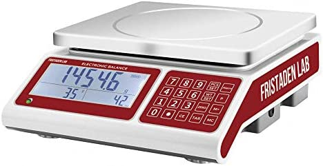 American Fristaden Lab Industrial Counting Scale Count and Weight Small Parts and Coins in Seconds product image
