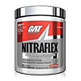 GAT Sport NITRAFLEX Testosterone Boosting Powder, Increases Blood Flow, Boosts Strength and Energy, Improves Exercise Performance, Creatine-Free (Peach Mango, 30 Servings)