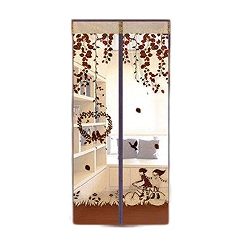 Mosquitera magnética manos libres cortinas de tul para puerta, no más mosquitos o insectos Coche de café