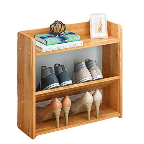 LONGJUAN-C Zapatero Simple Multi-Capa de Zapatero for el hogar Economía, Dormitorio, Dormitorio, Almacenamiento (Color: Hoja de Arce Rojo, tamaño: 40 * 17 * 18 cm) Soporte de Zapatos