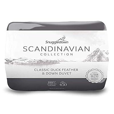 Snuggledown Scandinavian Duck Feather And Down Duvet - 13.5 Tog by Snuggledown