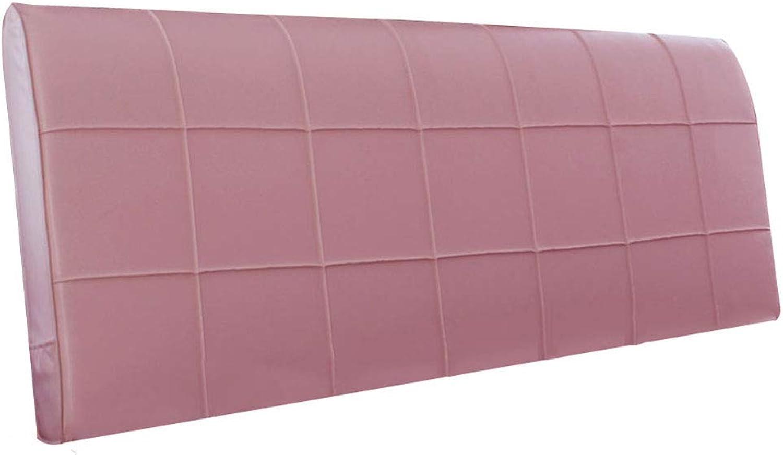 LIQICAI Coussins Lombaires Chevet Oreiller Pas De Tête De Lit Idéal Pour La Lecture Aide Avec Le Reflux Acide (Couleur   rose, taille   150  8  58cm)