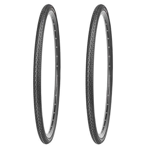 Kujo Fahrradreifen-Set 700 x 38c, schwarz