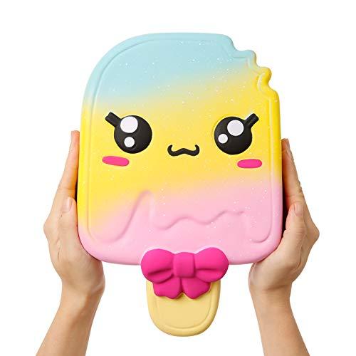 Anboor 11 Pulgadas Jumbo Squishies Popsicle Kawaii Perfumado Suave Lento Levantamiento Gigante Apriete Squishies Alivio del estr¨¦s Juguete para ni?os
