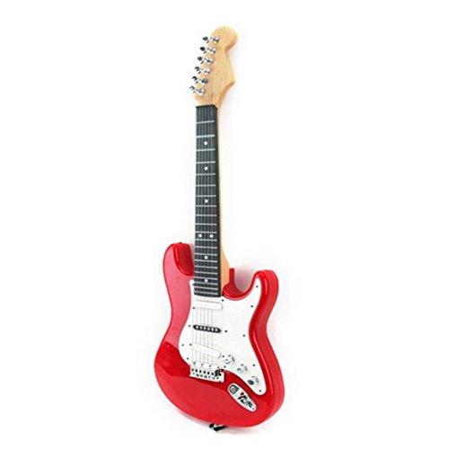 Koyae Guitarra para Niños, 4 Cuerdas Clasica Guitarra Electrica Niños, Rock Guitarra...