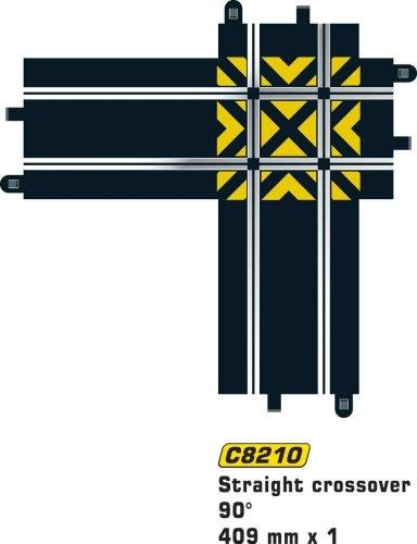 Hornby France - C8210 - Scalextric - Voiture - Croisement droit 90°