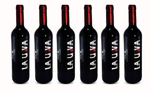 LAUWA Vino Tinto Joven 2018, D.O.Ca. Rioja, Tempranillo, Pack de 6 Botellas de 750ml