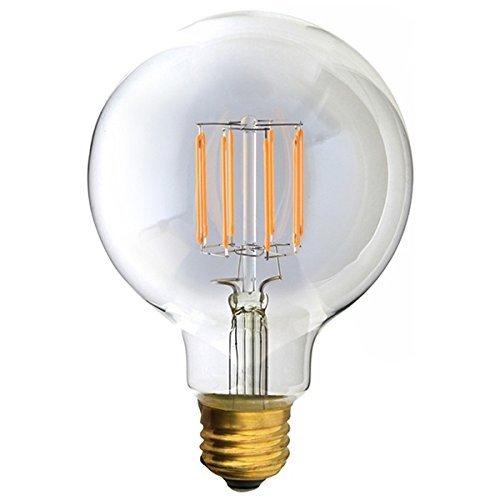 ビートソニック LED電球 《Siphon》 ボール95形 30W相当 全光束400lm 暖系電球色 E26口金 調光器対応 LDF31A