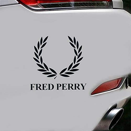 badge autocollant voiture Fred Perry Marque De Mode Logo Autocollant De Voiture Decal Fenêtre Autocollant De Voiture Decal
