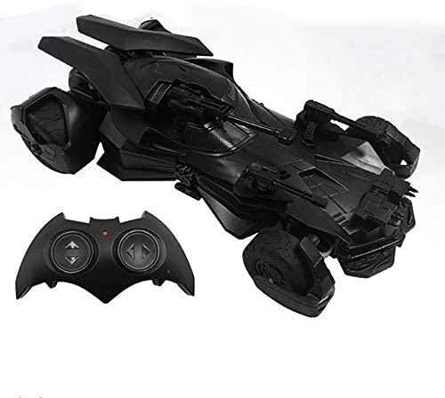 YIQIFEI Coche de Control Remoto inalámbrico Justice League Toy Batmobile Super Heroes Toy 1:18 High Speed ​​Off-Road Model Car 2.4G Vehic (Inteligente)