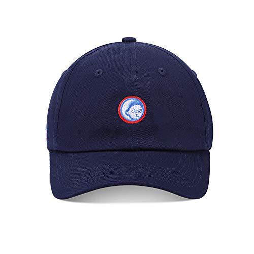 Nueva Gorra de béisbol Coreana con Bordado de Dibujos Animados Street Wild Cap Harajuku Youth Hip Hop Hat Sun Hat