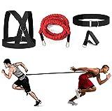 Juego de cables de resistencia YNXing Fit Solo o Partner, ideal para tenis, fútbol, baloncesto, movimiento, Sprint, entrenamiento de sobrevelocidad