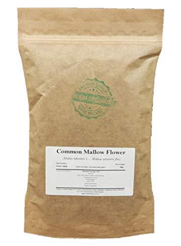 Herba Organica - Malva Común Flor - Malva Silvestris L - Common Mallow Flower (100g)