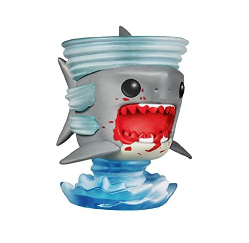 LUGJ Funko Pop Kawaii Q Versión Anime Figura Shark Shark Whirlwind Edición De Coleccionista Figuras De Acción De Vinilo Pop En Caja De Juguete De 10 Cm, Colección De Decoración De Juguetes para Niños