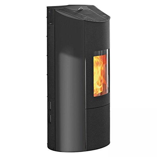Pelletkachel Olsberg Levana 8 kW Nennwärmeleistung zwart