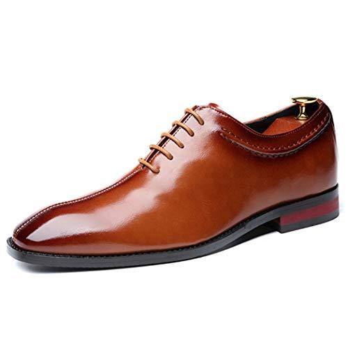 Zapatos de Vestir para Hombre de Negocios con Cordones Vintage Puntiagudos Zapatos...
