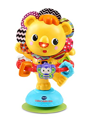 VTech Twist and Spin Lion, Baby Music Toy for Sensory Play, Educational...