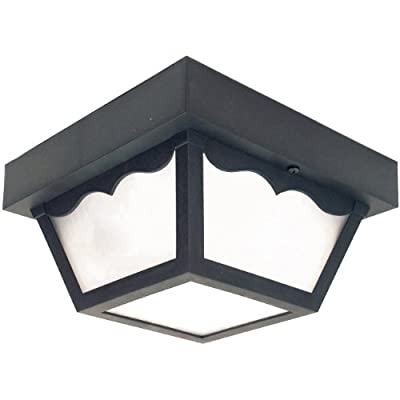 Sunlite Decorative Outdoor Energy Saving Century Collection Fixture, Frosted Lens