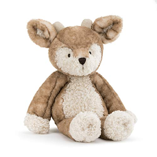 DEMDACO Woodland Fawn Soft Brown 13.5 inch Plush Polyester Fabric Stuffed Animal Toy