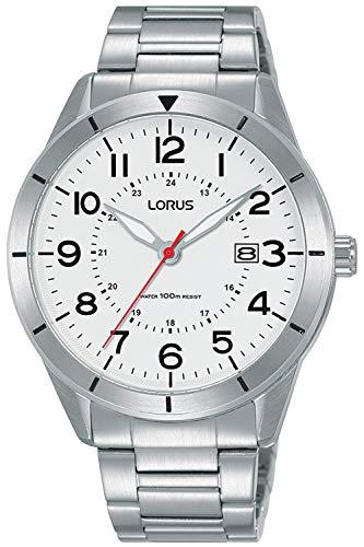 Lorus Sport Man Reloj para Hombre Analógico de Cuarzo con Brazalete de Acero Inoxidable RH935LX9