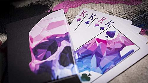 Murphy Memento Mori NXS Playing Cards (Black) 3rd Edition Deck Magic Supplies