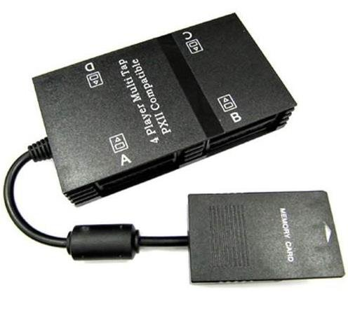 4 Spieler Adapter für Playstation 2 PS2 Multitap Adapter 4 Player PS2 Konsole