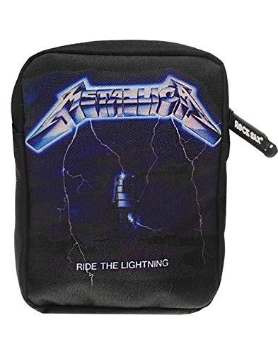 Rock Sax Metallica Ride Die blitzschnelle Schwarze Umhängetasche