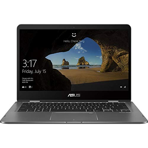 2019 ASUS ZenBook Flip 14' FHD Touchscreen 2-in-1 Laptop...