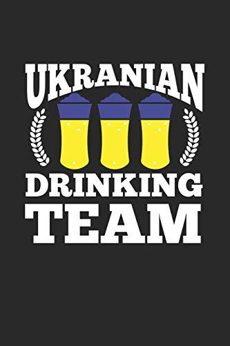 Ukranian Drinking Team: Trinker Alkohol Bier Notizbuch liniert DIN A5 - 120 Seiten für Notizen, Zeichnungen, Formeln | Organizer Schreibheft Planer Tagebuch