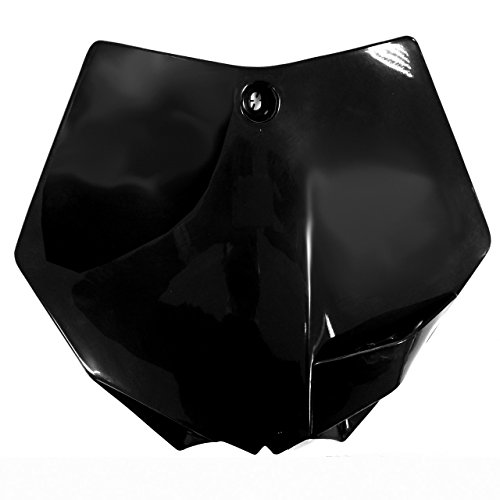 UFO - 48508/54 : Portanúmeros delantero Negro KT03093-001
