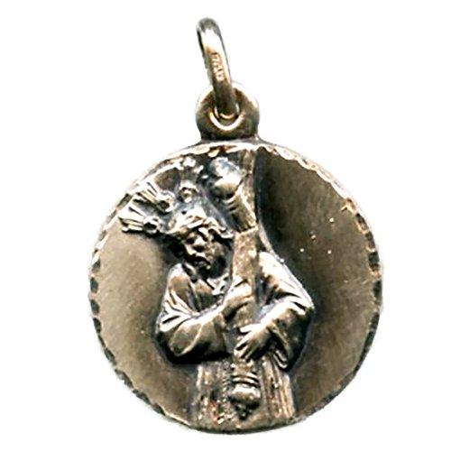Medalla Nuestro Padre JESÚS NAZARENO (HUELVA) 23 mm Plata DE Ley