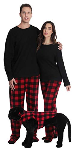 #followme Family Pajamas Microfleece Mens Pajama Set 6752-10195-XL