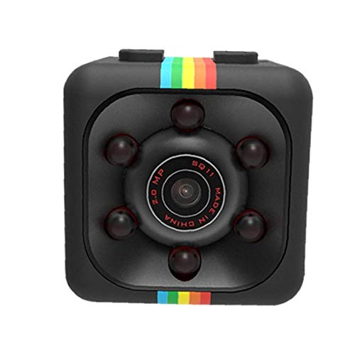 Mini Cámara, Cámara De Deportes Al Aire Libre Cámara Multifuncional 1080p para La Fotografía Al Aire Libre En La Noche