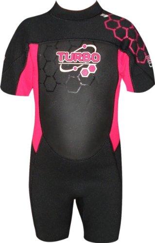 TWF - Traje para Deportes acuáticos, Color Rosa, Talla UK: 14-15 años