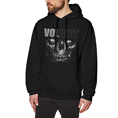 NAasks Kapuzenpullover, Volbeat Man's Fashion Hoodie Sweatshirt Black