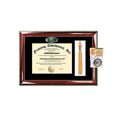 Western Washington University Tassel Diploma Frame WWU Campus Picture Double Degree Plaque Tassel Holder Framing Graduation Gift Bachelor Master MBA Doctorate PHD Certificate Case