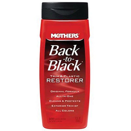 Mothers 06112 Back-to-Black Plastic and Trim Restorer - 12 oz.